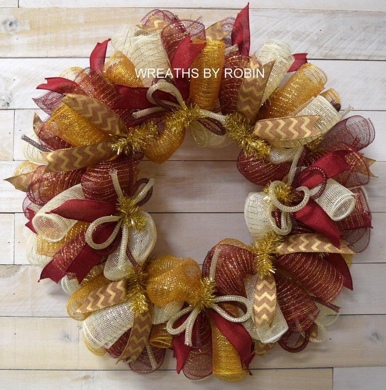 Christmas Wreath Fall Wreath holiday wreath 1673
