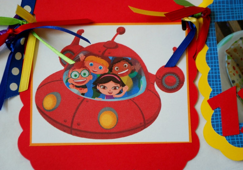 Little Einsteins Photo Banner Choose Your Character Or Etsy