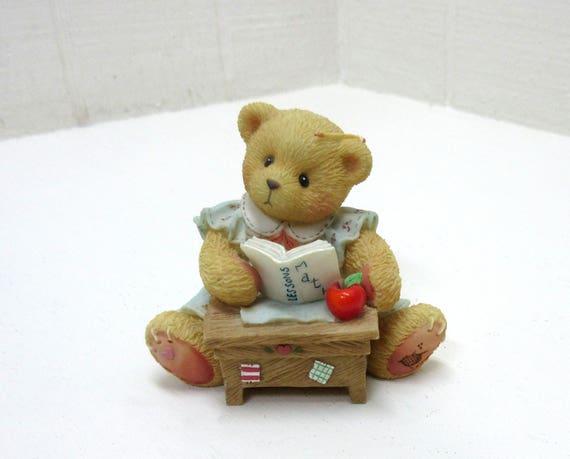 """Vintage Cherished Teddies ENESCO """"LINDA"""" 1996 Figurine"""