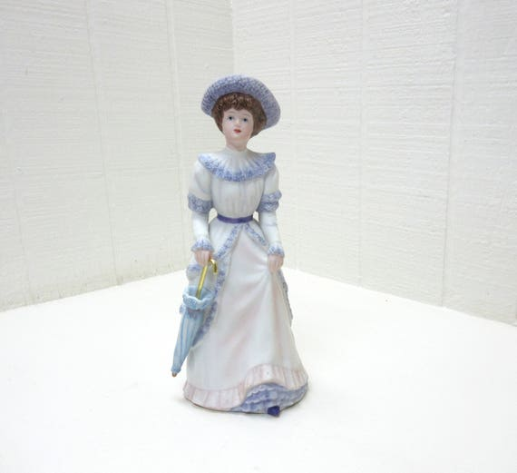 "Vintage Home Interiors ""PENELOPE"" Porcelain Figurine #1491"