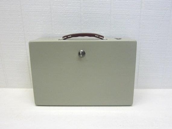 Vintage Steel Security Box