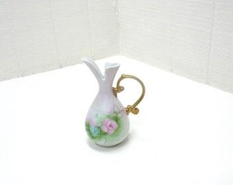 Vintage Porcelain E. Killian Bud Vase Urn With Handle