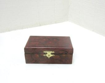Vintage Chinese Oriental Shanghai Jewelry Box