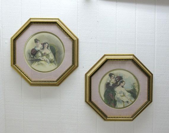 Vintage Rudolf Lesch Fine Arts Lot Of 2