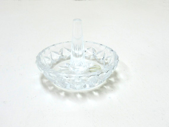 Vintage Glass Stylesetter Style By Design Ring Holder Made In Taiwan