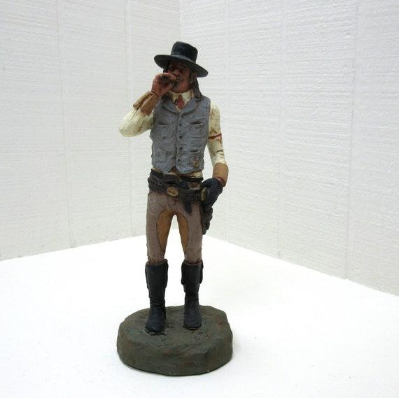Vintage Michael Garman Western Figurine  - 1988 SHOOTIST