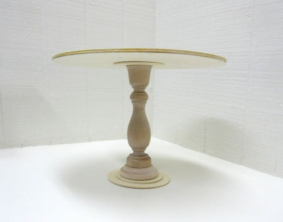 DIY Project Wooden Cake Stand