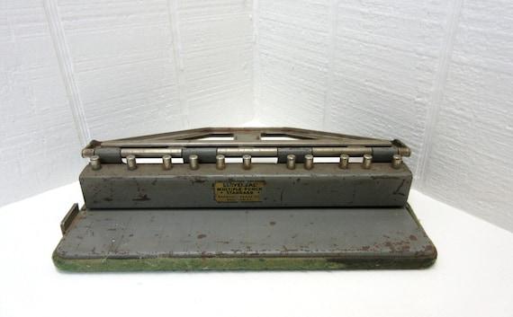 Vintage Universal Multiple Punch Boorum & Pease