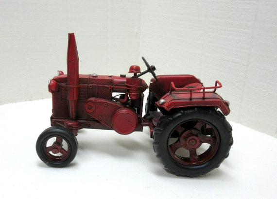 Vintage Toy Lanz Bulldog Metal Collectors Farm Tractor Made In Germany
