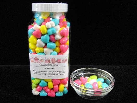 BULK Spring Heart Sprinkles, Cake Decorations, Cupcake Decorations, Cake  Pop Decorations, Baby Shower, Weddings, Candy Buffets- 16oz