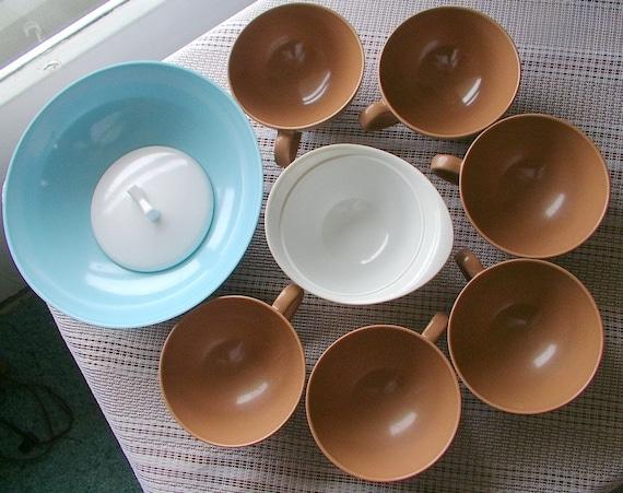 & 1950s Melmac Dishes TEXAS WARE Dishes Melamine Dinnerware