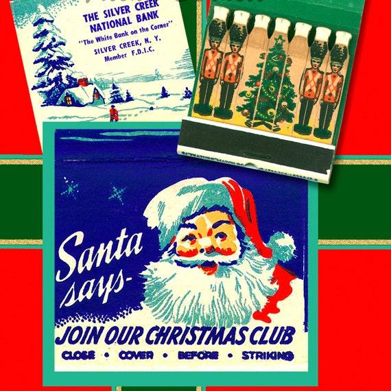 image 0 - Vintage Christmas Wall Decor