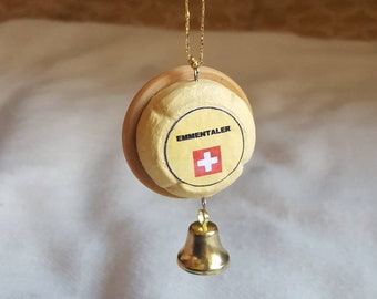 Swiss Cheese Christmas Ornament