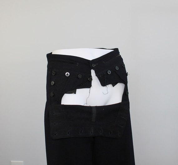 1940s Wool Sailor Pants // Men's Small - image 7