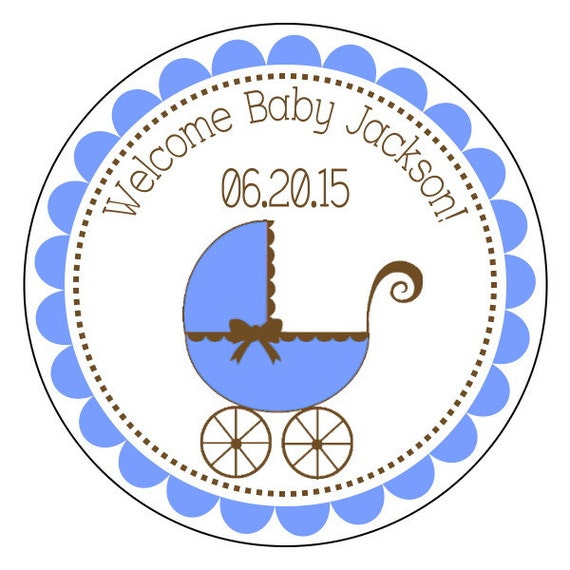 baby shower stickers baby boy labels baby shower sticker etsy