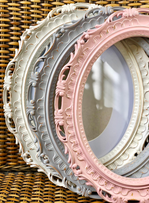 Ovale verzierten Rahmen mit Glas oder offen Kinderzimmer Dekor | Etsy