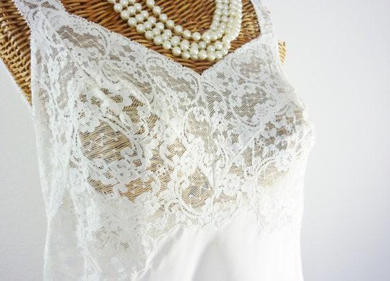 Fischer Heavenly Lingerie Nylon Tafata Dress Slip