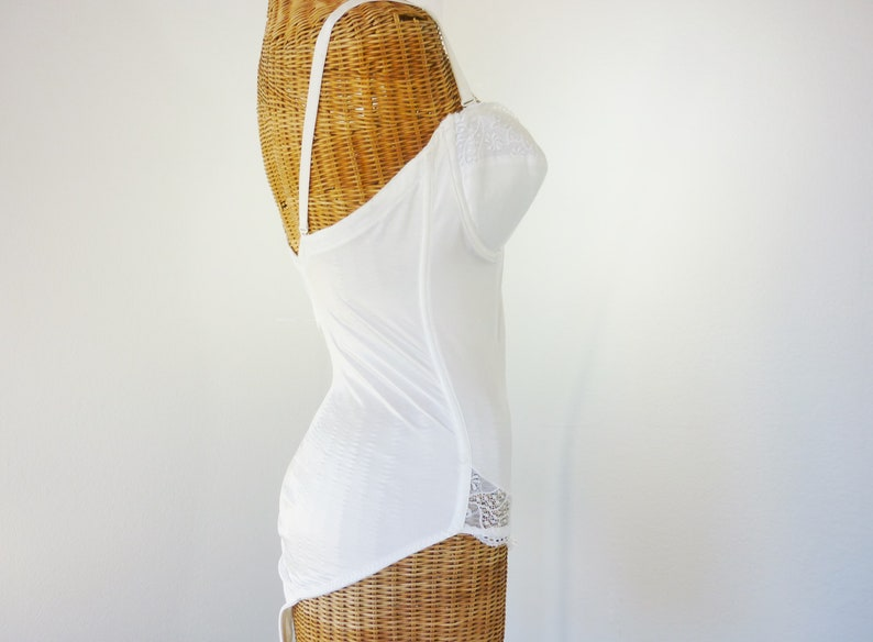 Tall Woman/'s Shaper by Maidenform 38C Unworn Vintage Bridal White 80s