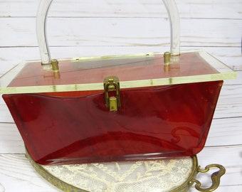 40b053423cae3 Lucite purse