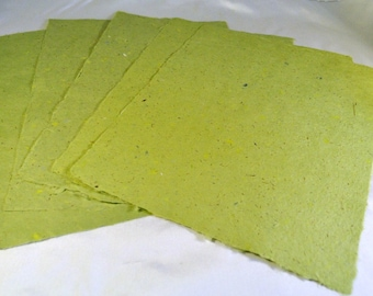 five greenery colored medium size hand made paper scrapbook etsy