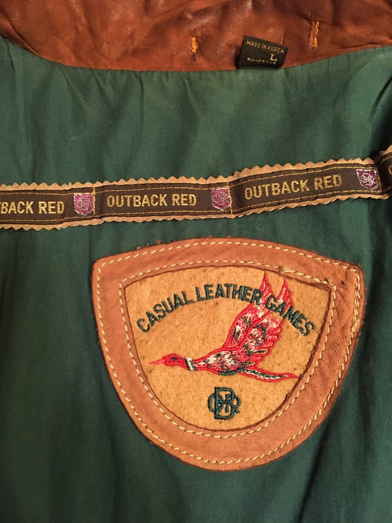 Outback Red Leather Jacket - image 7