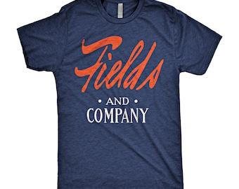 Justin Fields Marshall Fields Chicago Bears T-Shirt
