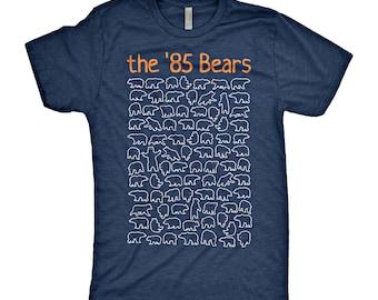 Unique 85 Chicago Bears T-Shirt