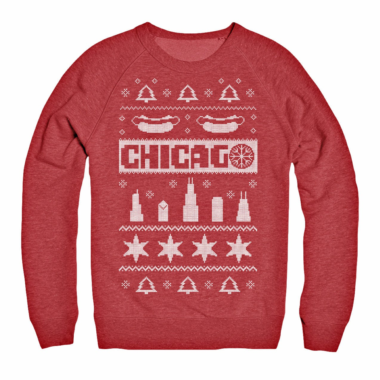 51b1d41ae7f Chicago Ugly Christmas Sweater