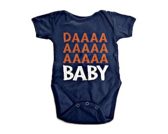 Chicago Bears Baby Onesie Infant Shoulder Creeper Daa Baby