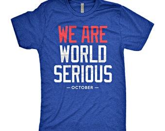 Chicago Cubs Playoffs World Serious T-Shirt
