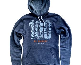 100 Da Century Chicago Bears Hoodie Sweatshirt