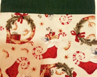 Classic Christmas pillowcase