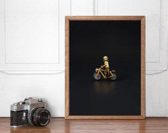 C3PO Gold, Star Wars Lego Wall art Printable, Start Wars Poster, Home Decor, Nursery Decor, Instant Download