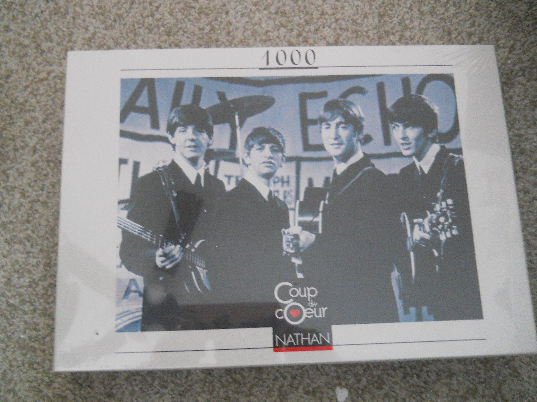 The Beatles Coup de Coeur Nathan 1000 piece jigsaw puzzle