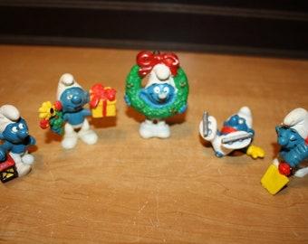 Smurf Toys Etsy