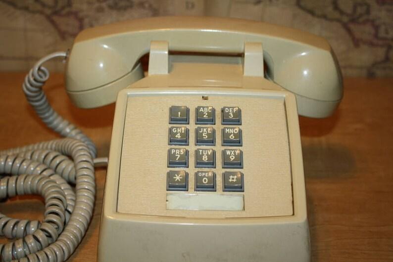 Vintage Telephone ETA 32 Iskra  Iskra Yugoslavia  Vintage Home Decor  Original Iskra  gray  70s