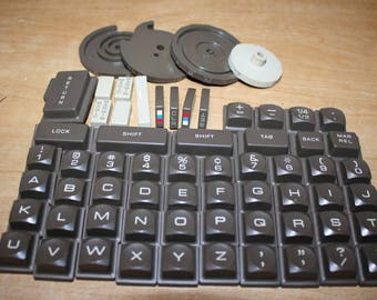 Vintage Typewriter Keys - item #2659