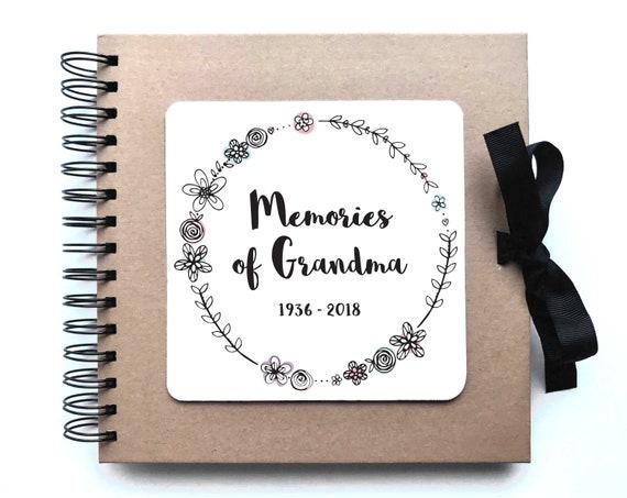 PERSONALISED A5 SIZE grandpa PHOTO ALBUM//SCRAPBOOK//MEMORY BOOK CHRISTMAS OFFER