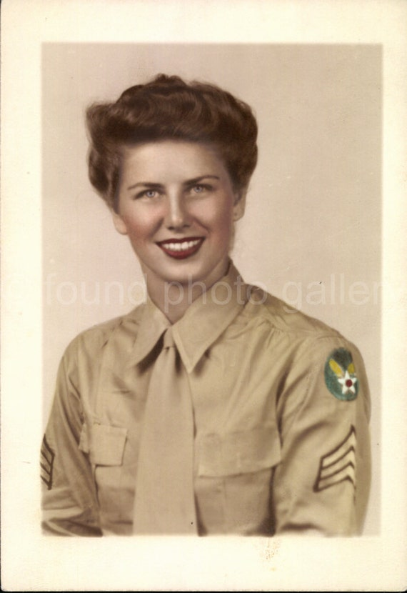 Digital Download Wac Womens Army Corp Soldier Wwii Etsy