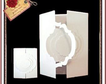 367 Interlocking Gatefold Card *Multiple MACHINE Formats*