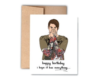 Funny Birthday Card Greeting Happy Cool Boise Idaho