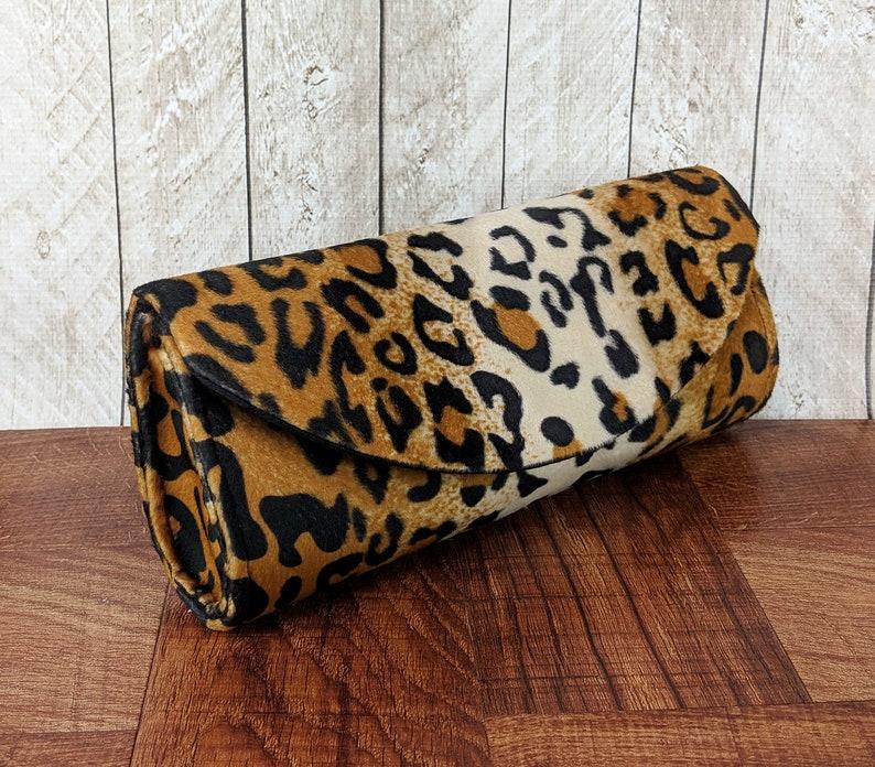 1fa701030b Leopard clutch bag. Animal print clutch purse. Leopard purse   Etsy