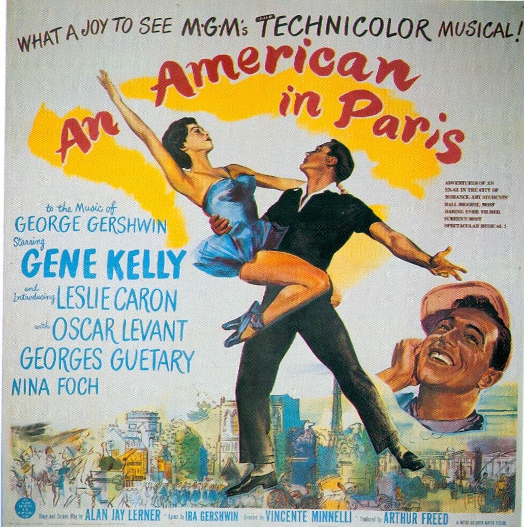 Magnet An American In Paris Gene Kelly Leslie Caron Etsy