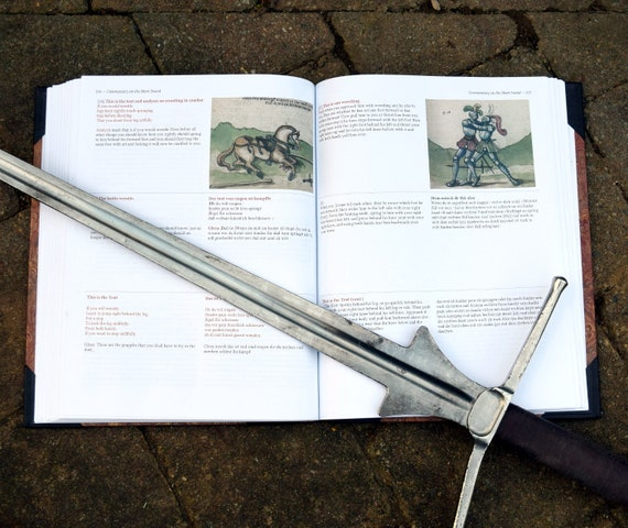 Liechtenauer Sword Fighting Manual Compilation Book for HEMA and SCA