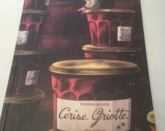 French Vintage Children's Book - Cerise Griotte
