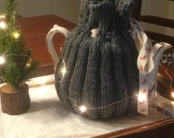 Grey Teapot Cozy