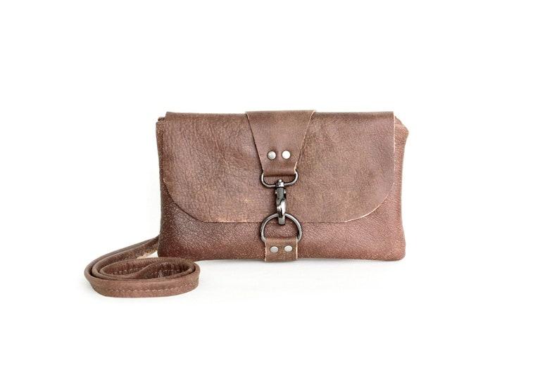 252ac9ae46258 Small Brown Leather Crossbody Bag Women s Cross Body Bag