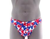 Patriotic Stars Bikini Print Men Bikini swimsuit ( LIMITED SUPPLY)