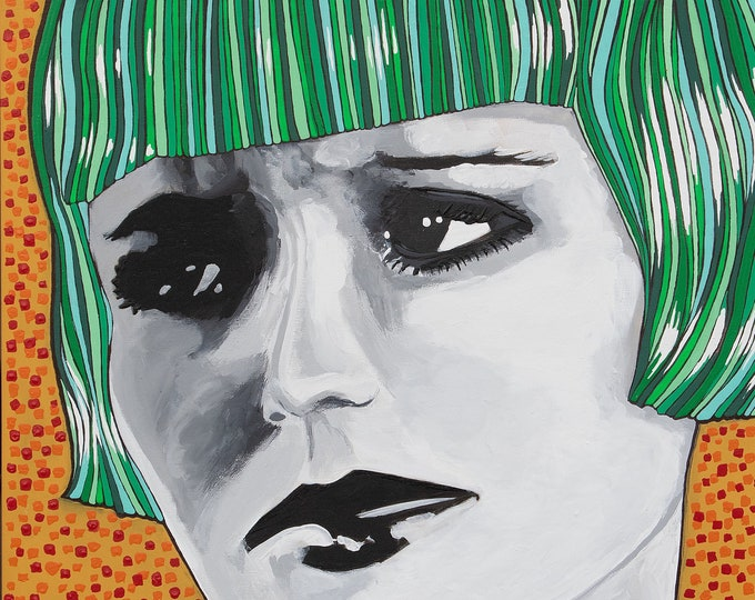 Featured listing image: 16x20 Lulu Original Canvas Painting