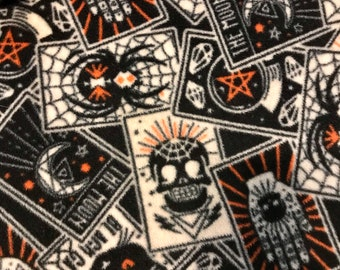 Blanket Comforter Fleece Occult Pagan Witch Pentagram Cat Magic Black White Red Soft Quilt Bedding Twin Full Queen Pillow